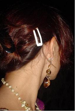 Caracolas en las orejas